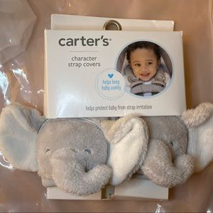 Carter's Character Plush Strap Covers Elephant